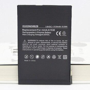 ISUN 5pcs/lot A1550 A1538 3.82V 5124mAh Battery For iPad mini 4  Tablet Battery Replacement Bateria