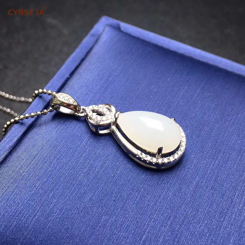 Xinjiang Hetian Jade Charms Necklaces Jade Pendant Silver 925 Certified Natural Hetian Lucky Pendants High Quality Family GiftsXinjiang Hetian Jade Charms Necklaces Jade Pendant Silver 925 Certified Natural Hetian Lucky Pendants High Quality Family Gifts