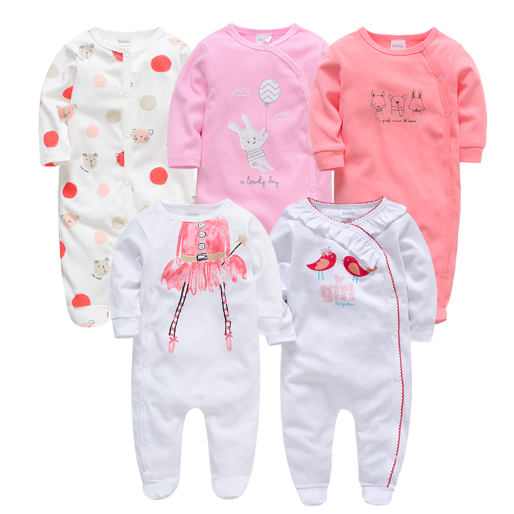 Baby Onesie Winter Autumn Baby Boy Clothing Cotton Long Sleeved Baby Girl Romper Cartoon Jumpsuit Kids New Born Outfits Clothes Fine Quality Boys' Baby Clothing