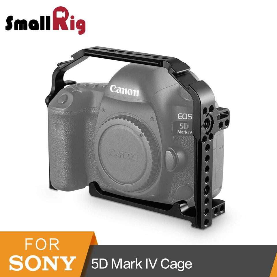 SmallRig для Canon 5D Mark IV клетка с Встроенный Arca QR плиты + сбоку НАТО железнодорожных + Arri установочного отверстия + Холодный башмак-1900
