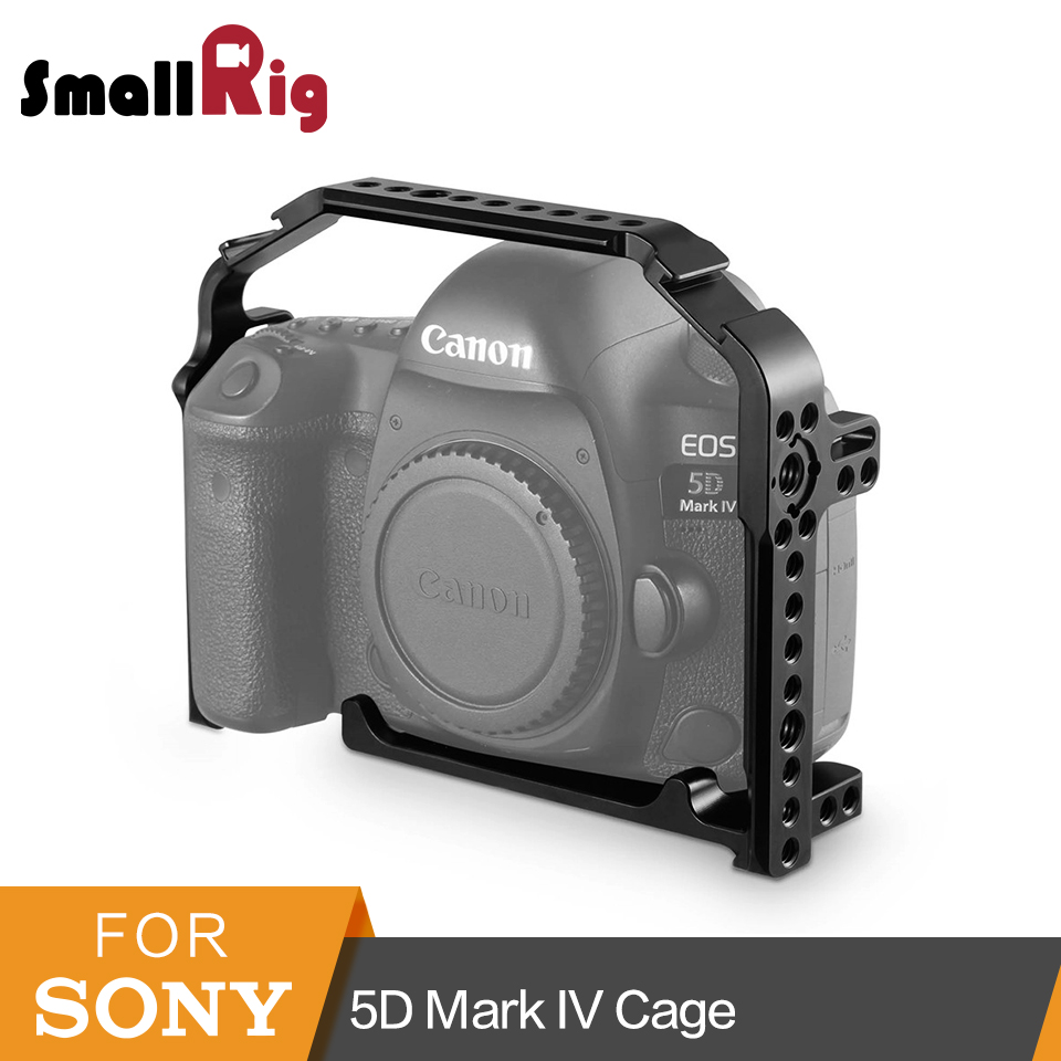 SmallRig For Canon 5D Mark IV Cage With Built-in Arca QR Plate +Side NATO Rail +Arri locating Hole +Cold Shoe- 1900SmallRig For Canon 5D Mark IV Cage With Built-in Arca QR Plate +Side NATO Rail +Arri locating Hole +Cold Shoe- 1900