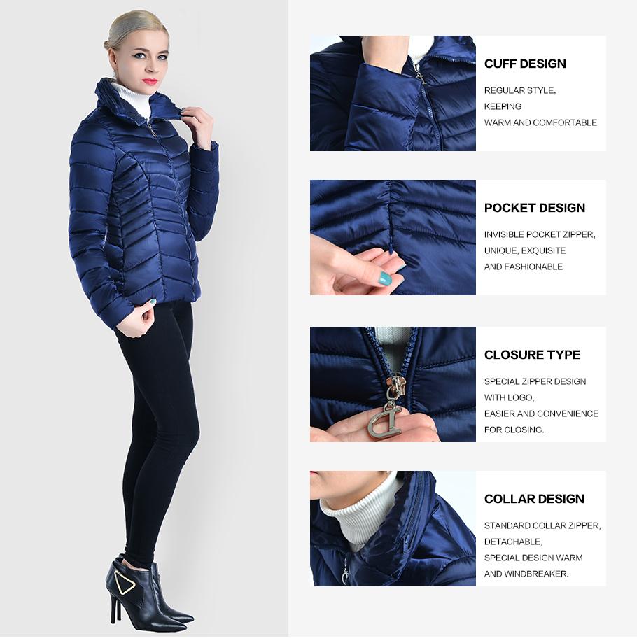 ec840721044 COUTUDI оптовая продажа женская куртка зимняя одежда темно синие короткие женские  теплые пальто для будущих мам хлопчатобумажная с мягкой набивкой парка ...