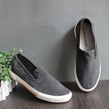 2019 Canvas Shoes Men Loafers Breathable Casual Shoes Soft Slip-On Flats for Male Footwear Summer Outdoor Espadrilles Men men flats shoes casual summer autumn espadrilles slip on canvas shoes men boat shoes breathable white black walking shoes 6h85