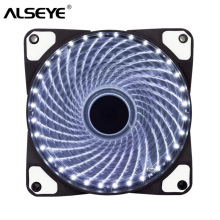 цена на ALSEYE 32 LEDs 120mm fan Radiator PC Computer Case Fan Cooler Cooling 12CM Fan,12V DC 3in/4pin 1300RPM