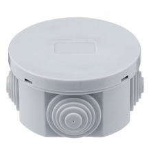Mayitr 65x35mm/80x40mm ABS Plastic Junction Box Electric Enclosure Case Round Weatherproof Terminal Waterproof Dustproof New