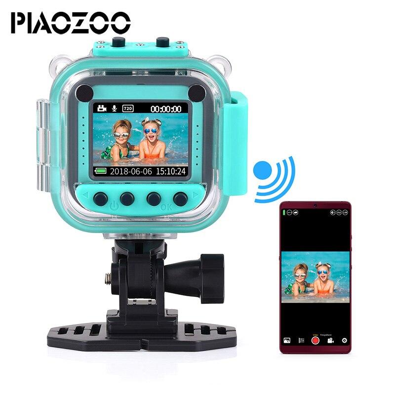Enfants Kid Numérique Vidéo Caméra jouet juguete 20 m étanche sport action caméra multiples langues précieux Cadeau de noël P20
