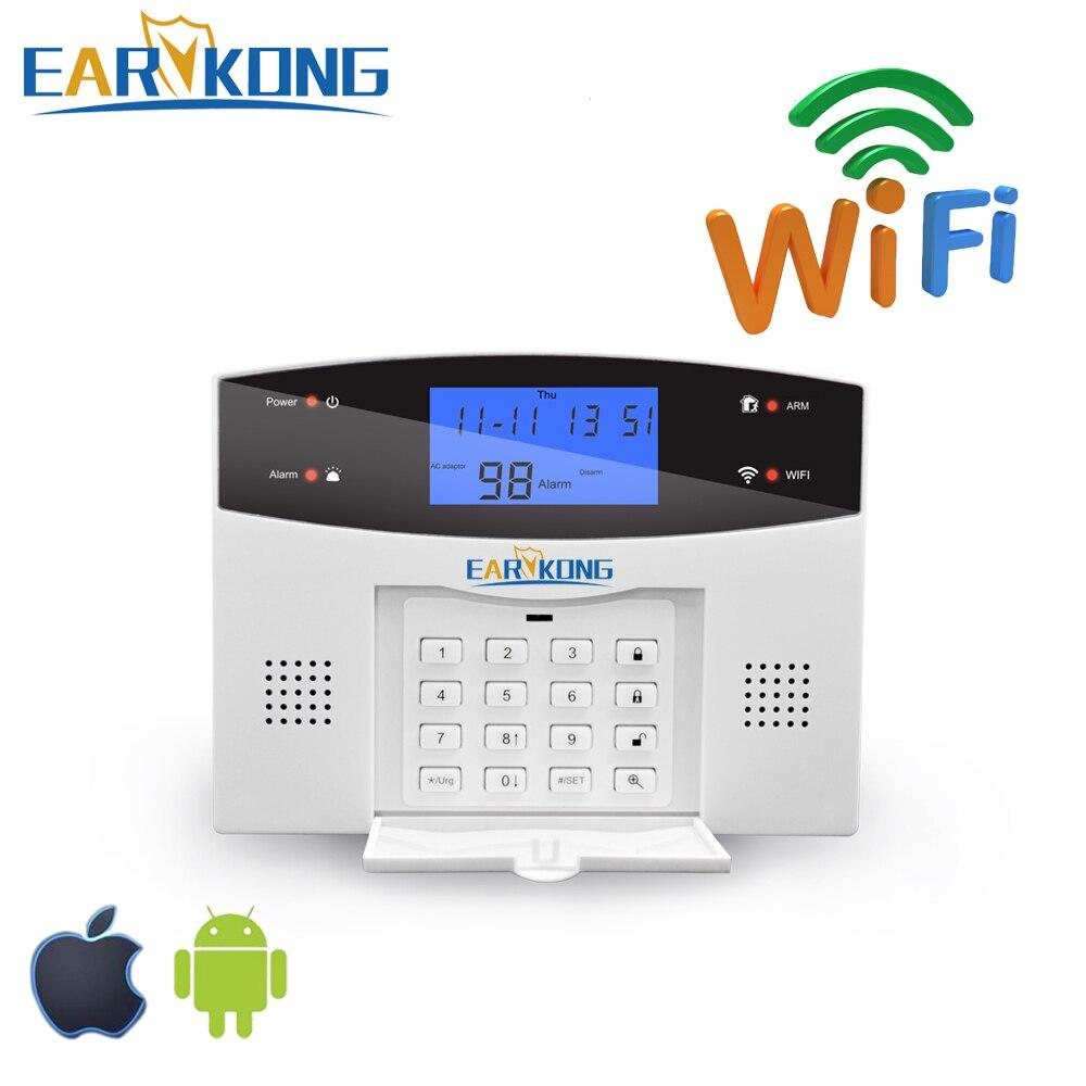 WPG wifi pstn GSM alarm system