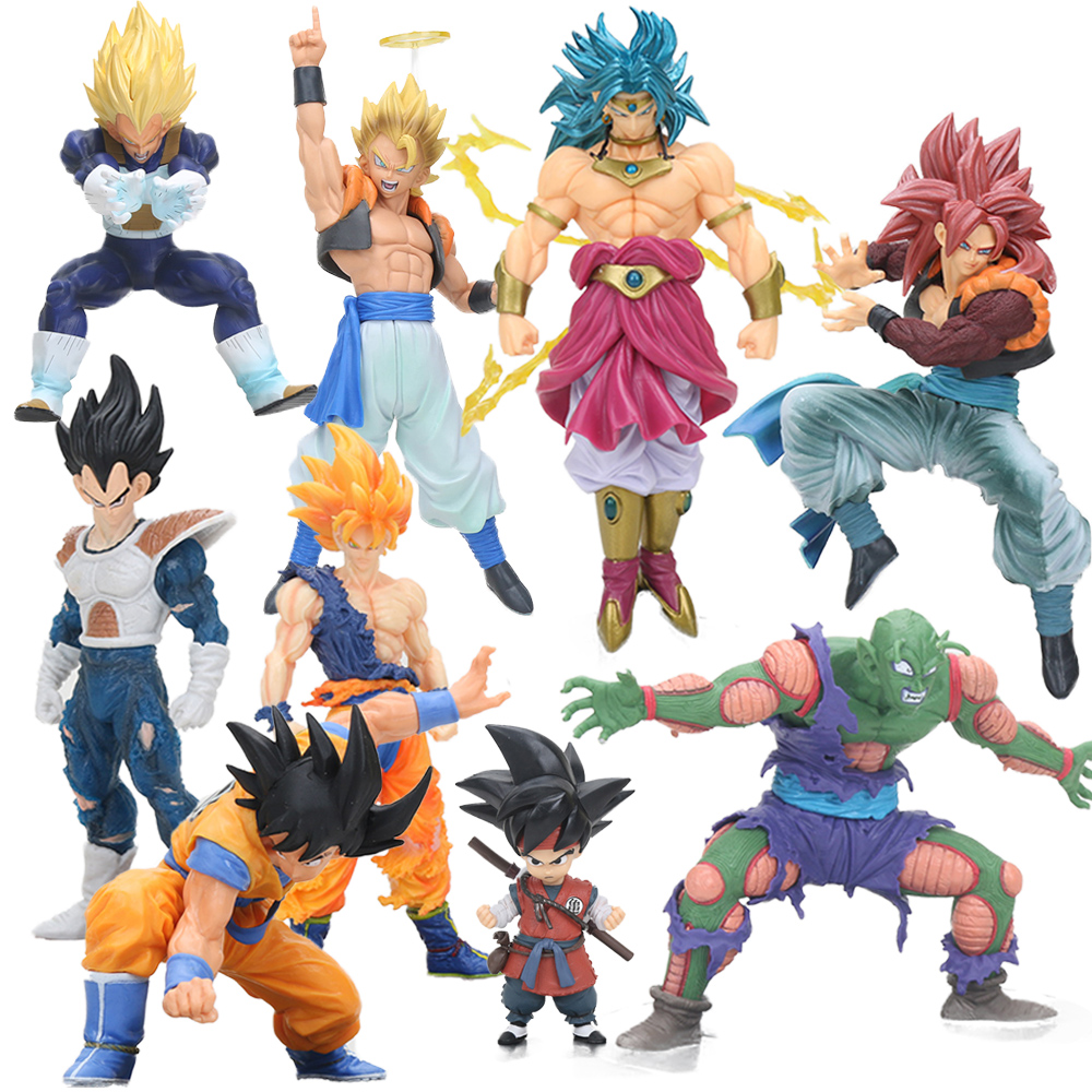 Toys & Hobbies Hearty Dragon Ball Z Vegeta Son Goku Super Saiyan Fighting Together Led Lighting Anime Dragon Ball Z Vegeta Goku Model Toy Dbz Numerous In Variety