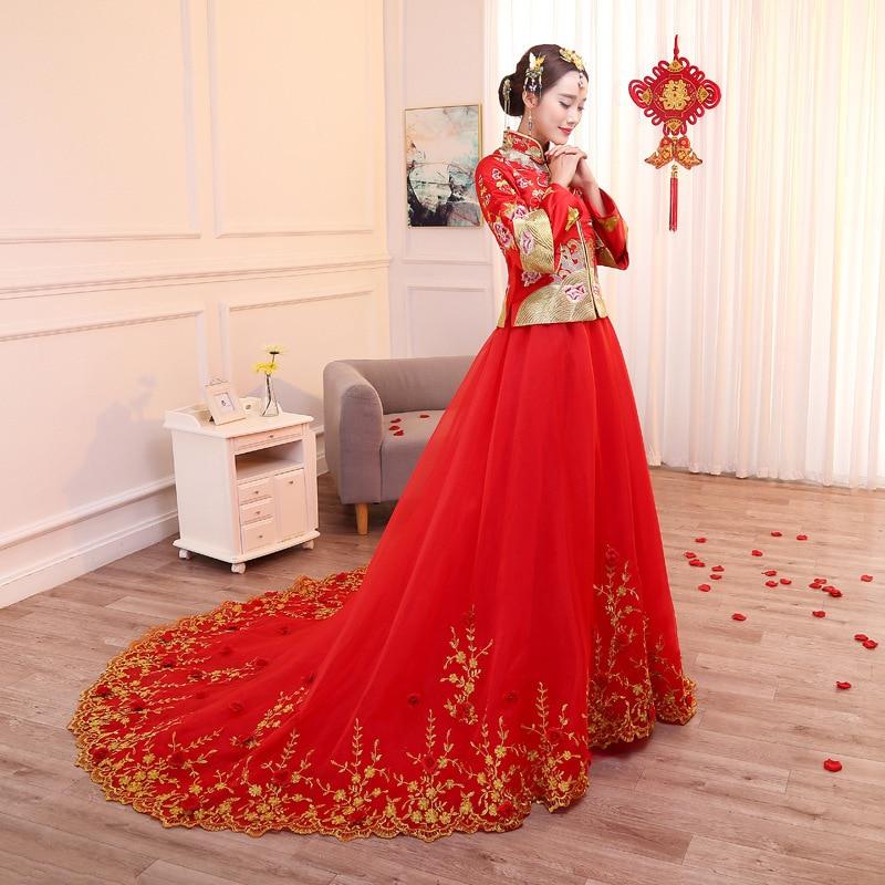 Aliexpress Com Buy Chinese Traditional Wedding Dress New