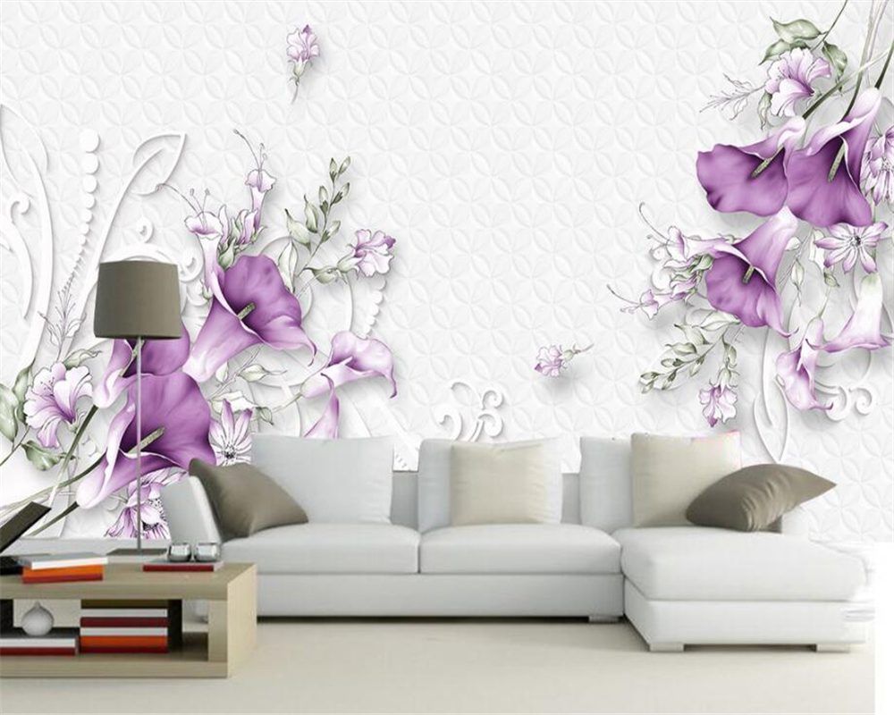 Beibehang Home Furnishings Large Living Room Bedroom