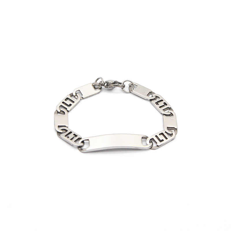 2019 Children Stainless Steel Bracelets & Bangles ID Bracelet Love Kids/Baby/Child /Personalized Gift Br05161