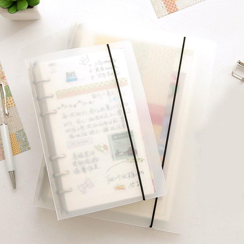 A5 A6 Matte Binder Loose Strap Loose Leaf Notebook Paper