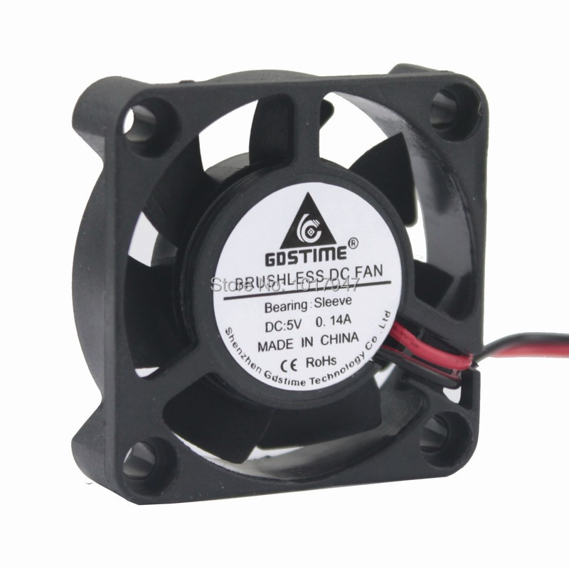 24V 40MM 40X40X15MM Brushless Computer Cooling Cooler Fan DC 2P Sleeve Bearing
