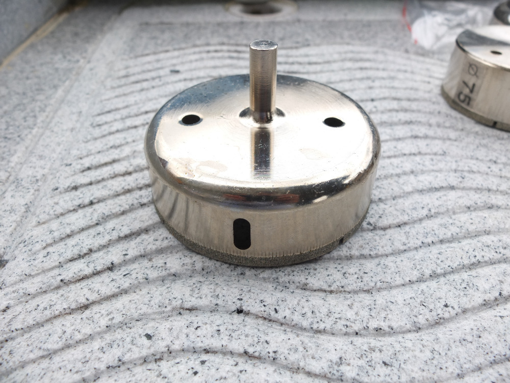 цена на 90mm Diameter Diamond Coating Tip Glass Tile Hole Saw