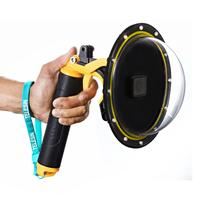 1Set Underwater Diving Dome Port Lens Waterproof Case Protective Cover for Gopro Hero 7/6/5/4/3+ Gopro Hero Action Cameras Acces