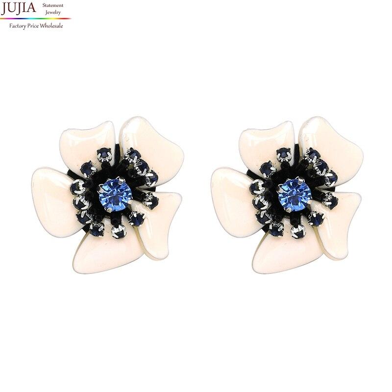 JUJIA Trend fashion hot sale women flower earring vintage statement Earrings for women jewelry wholesale