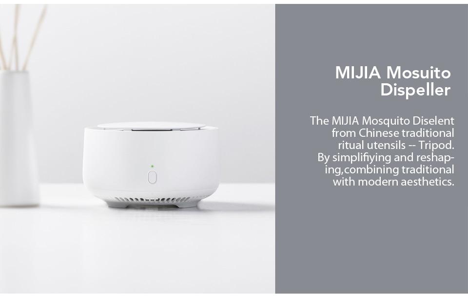 Xiaomi Mijia Newest Original Mosquito Dispeller Garden Electric Household Insert Killer Harmless Mosquito Repeller (2)
