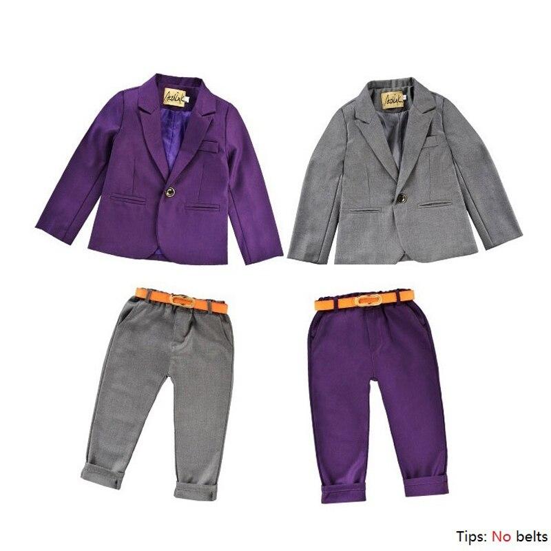 New 2016 Arrival Kids Spring Wedding Suit for Boys Brand Design Flower Boys Formal Blazer Suit Children Full Clothing Set, C279 new arrival children clothing set baby boys spring