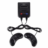 AAAE Powkiddy Hd Hdmi 16 Bit Retro Classic Console Video Game For Sega Console Pal/Ntsc Support Extra Cartridges Available