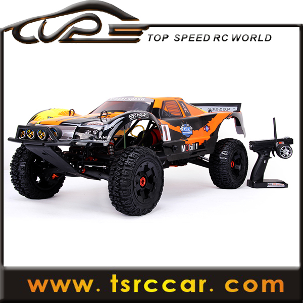 1/5 sales car 26cc RC Rovan Baja 5T with 2.4G 3 channel controller with LCD screen