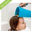 Высокое Качество подходит для Форма головы Ребенка шампунь для волос Чашки Дети Купаются детские купание Черпак Ложка Ребенок Мытья волос кубок дети душ