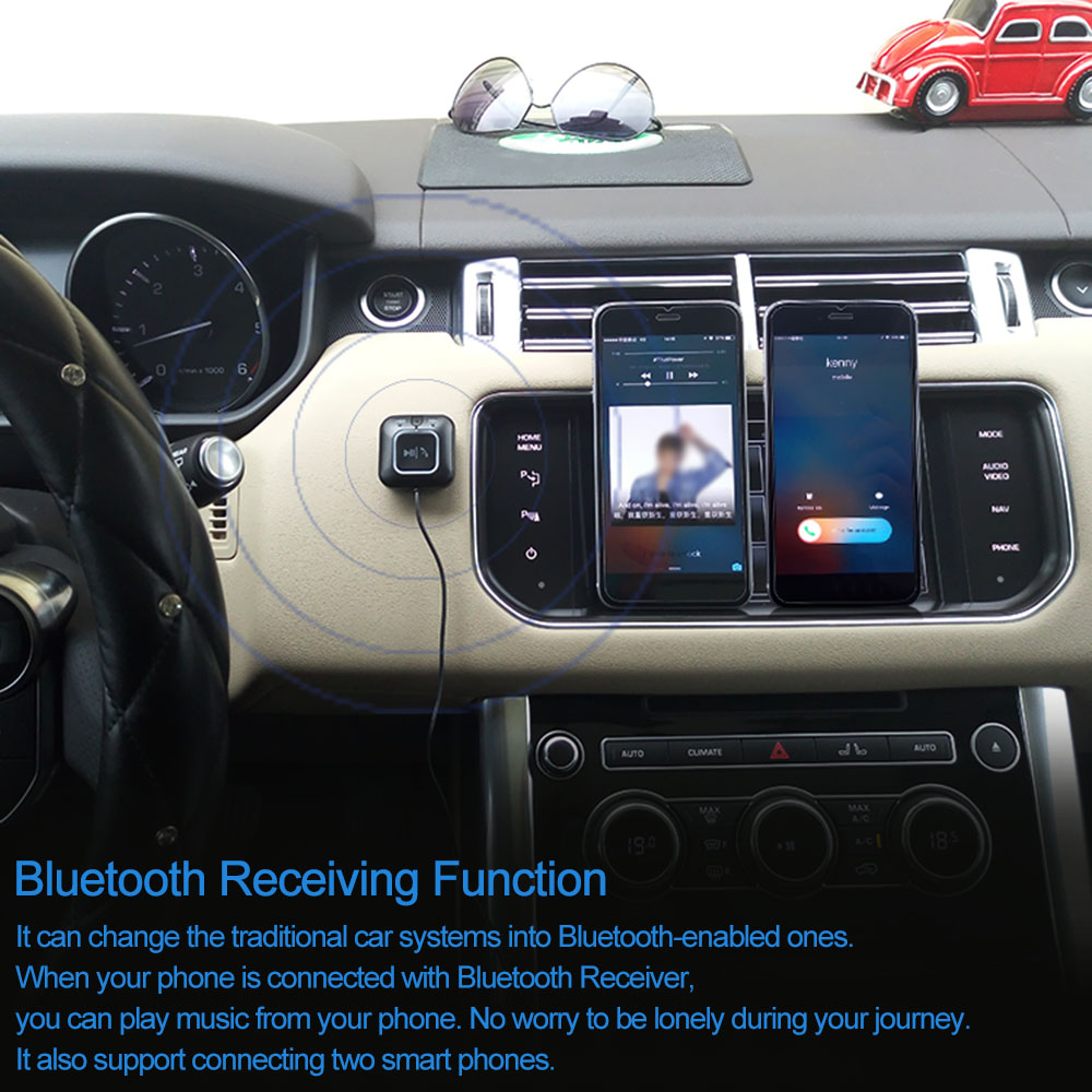 AUX Blueetoth Music Receiver Car Music hands free