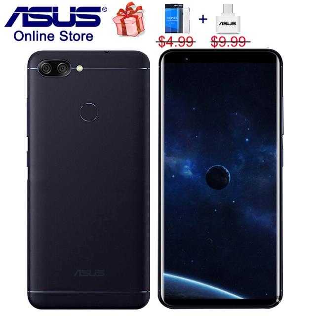 Asus ZenFone Max плюс M1 4G LTE мобильных телефонов 4 GB 64 GB Peg asus 4S ZB570TL, ZenUI 4,0, 5,7 дюйма HD 18:9 полный Экран смартфонов