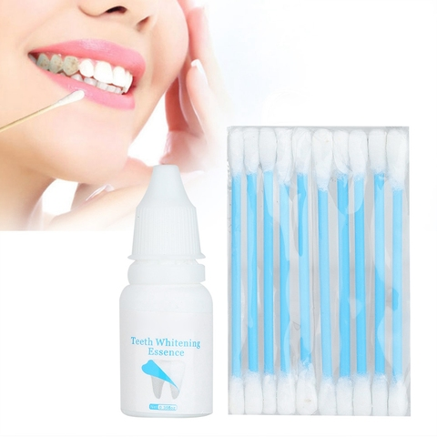 New Hot Sale 10ml Teeth Whitening  Powder Oral Hygiene Cleaning Plaque Stains Removal Pakistan