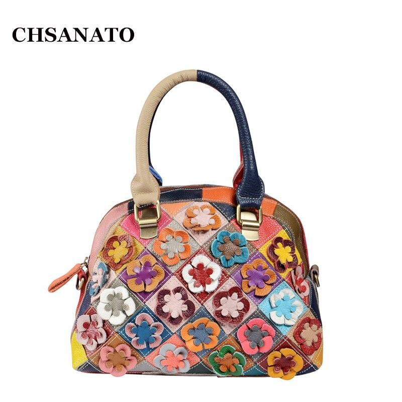 CHSANATO chaud!!! 2018 sac à main femme belle fleur mode dames bandoulière petit sac à bandoulière pour femmes Messenger sacs