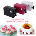 New 0.4mm Multi-purpose Airbrush Compressor Spray Art Paint Gun Kit Set for temporary tattoos cake decorating crafts airbrushing