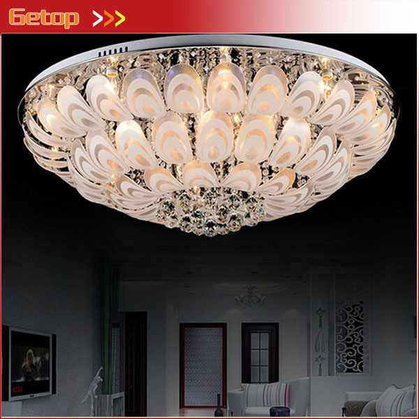 aliexpress koop beste prijs moderne k9 kristal licht ronde