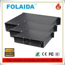 Стабильное качество 2U 8 в 8 Выход hdmi cctv матричный коммутатор 8х8 HDMI матрица HD 1080P EDID- 05