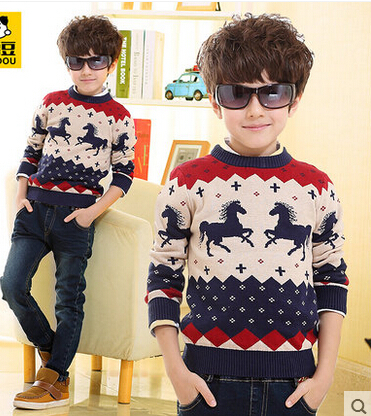 Free knitting patterns childrens sweaters baby boys clothes boys ...