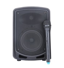 STARAUDIO SBM-065 Pro 6.5″ PA DJ 650W Recharge Battery Bluetooth Speaker W/ 1 UHF Microphone
