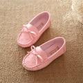 Del Otoño Del resorte Zapatos de Bebé de Color Caramelo Niño Niñas Zapatos de Princesa Bowknot Suaves Zapatos de Los Niños Primeros Caminante Zapato de Bebé Recién Nacido Niño