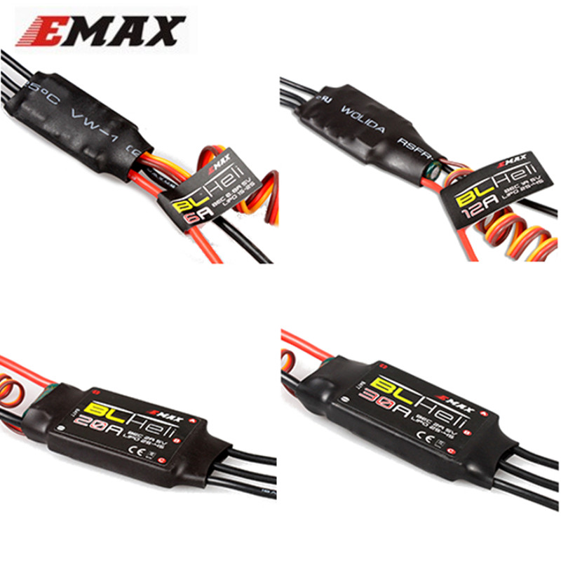 Original New EMAX BLHeli Series 6A 12A 20A 30A ESC For RC Toy Multirotor Quadcopter Parts Accessories Accs