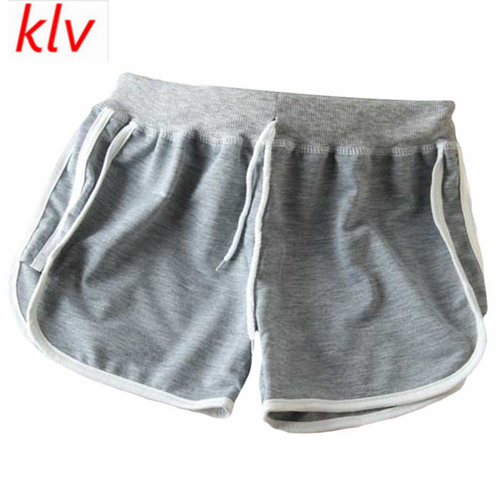 1f5fccfb7 KLV 2017 Women Fashion Summer Casual Comfortable Workout Waistband Shorts  Loose Short Pants Pantalones Cortos Mujer Deporte-in Shorts from Women's  Clothing ...