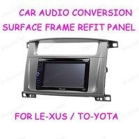 Für LE XUS LX 470 jahr 02 07 für TO YOTA Land Cruiser 100 jahr 03 07 CD änderung rahmen navigation 2 din freies verschiffen|Faszien|Kraftfahrzeuge und Motorräder -