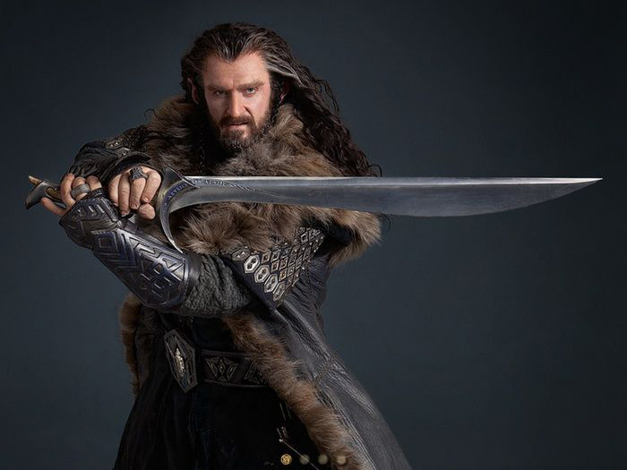 The Hobbit Thorin Oakenshield movie sword Orcrist toy Home furnishings Send a boyfriend