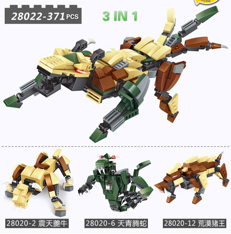 Building Blocks Compatible with Technic J28022 371P Models Building Kits Blocks Toys Hobby Hobbies For Chlidren