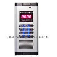 1 шт. мобильный телефон управление звонком две двери здание домофон доступ дверь gsm ворота operater устройство