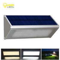 Solar Sensor Lamp 48 LEDs 1000LM Garden Waterproof Solar Light By Radar Motion Outdoor Aluminum Street