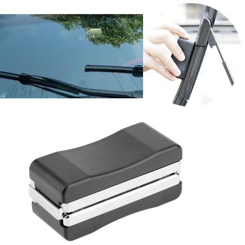 Wiper Wizard Windshield Scratches Blade Cleaner Refurbish Universal Repair Restorer Car Window Cleaner Blades Restore Sharpen