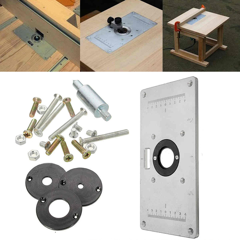 Hot Sale Multifunctional Aluminum Router Table Plate W 4