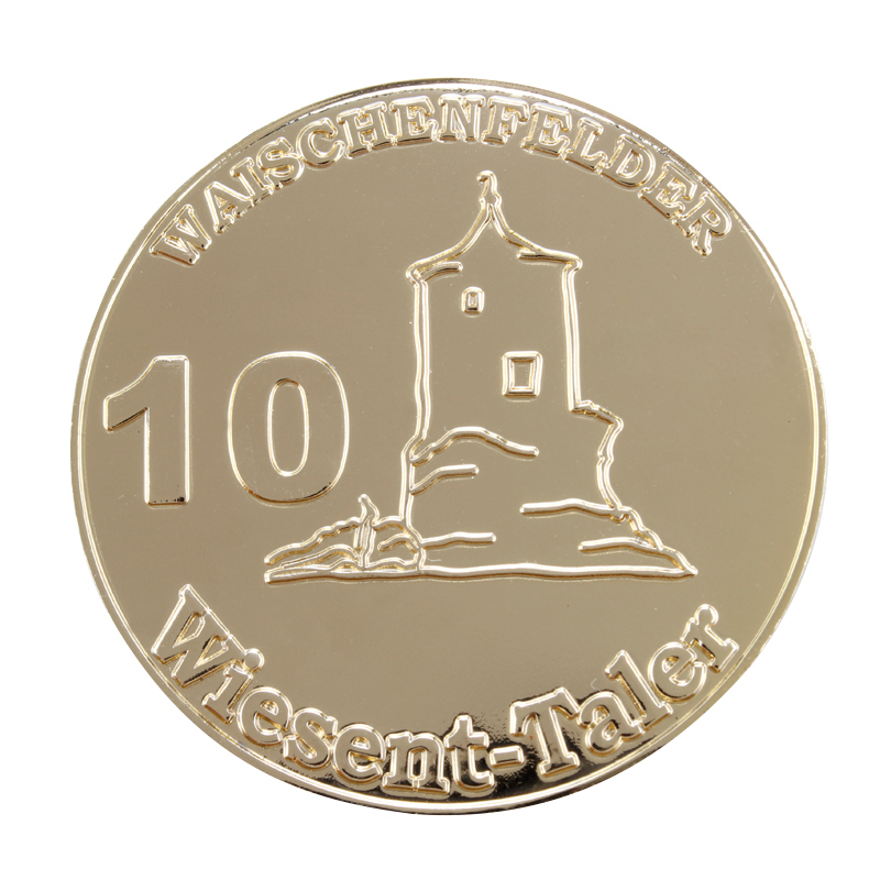 coins OEM low price Custom Souvenir Gold Coin cheap custom metal 3D coins in Non currency Coins from Home Garden