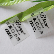 customized heat transfer labels in Garment care Labels print