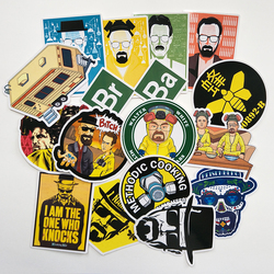 Breaking Bad 16/pcs PVC Series Stickers Classic Creative Design collection Gift High quality Printing waterproof Sunscreen