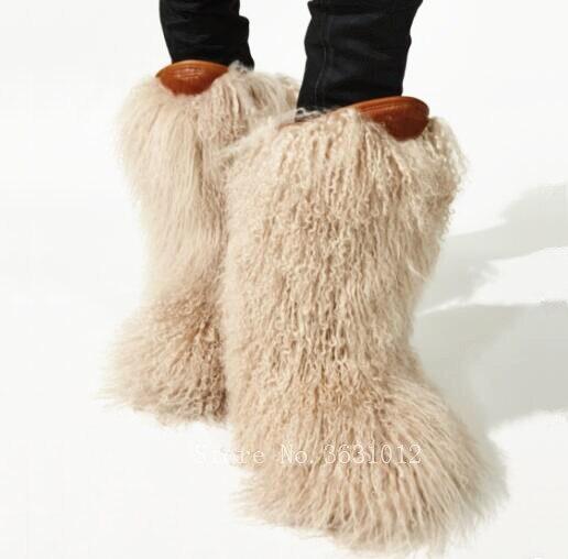 2019 зимние теплые меховые шерстяные женские сапоги с бахромой, обувь на плоской подошве, женские ботильоны, сексуальные латексные сапоги, зи