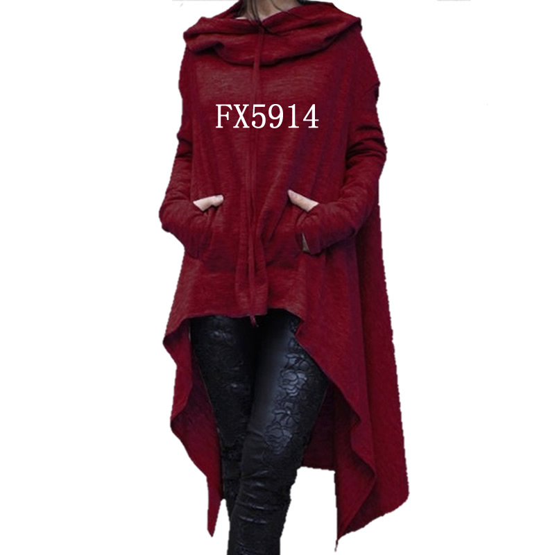 2018 di Nuovo Modo di Kawaii Felpe Felpa Femmes Donne Tasche In Cotone Sveglio di Stampa Confortevole E Felpe