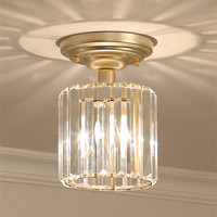 Modern Aisle Crystal LED Ceiling Lights Home Indoor Lamps Corridor Porch Dining Room Modern LED Ceiling Lamp